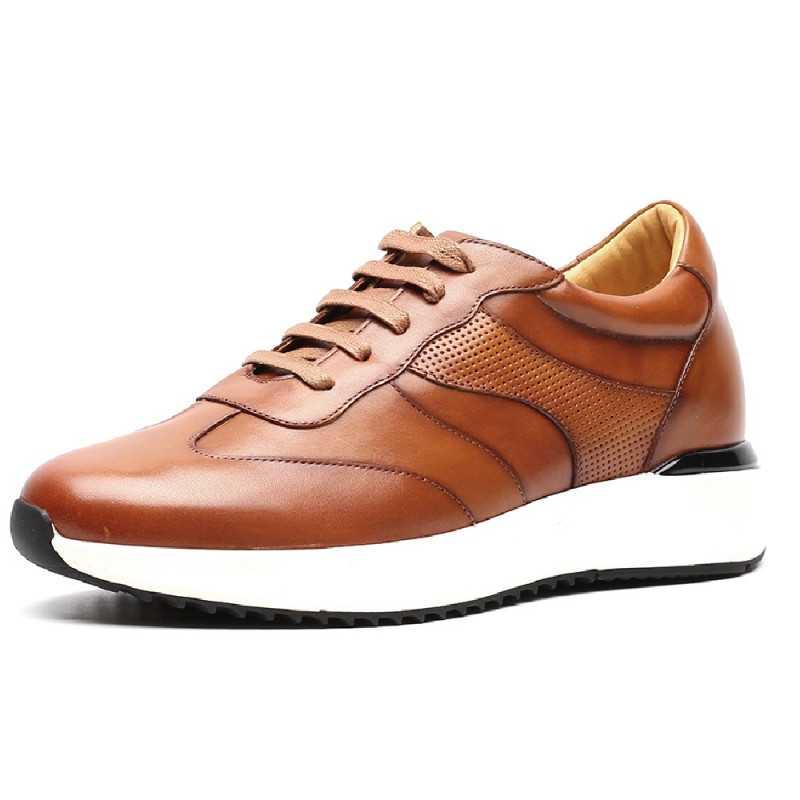 zapatos con alzas marcelo 7cm